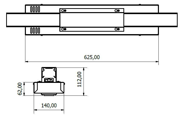 STARLUX LED Dimensions